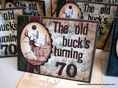 TLC328 ~A Hunter's Birthday by ellentaylor - Cards and Paper Crafts at Splitcoaststampers