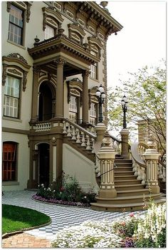 Leland Stanford Mansion, Sacramento. We love that we are able to provide our services for this landmark, as well as many other local treasures.#MyHometownPins