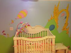 Lillian's Dr. Seuss nursery!