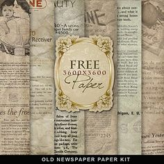 free download vintage style paper