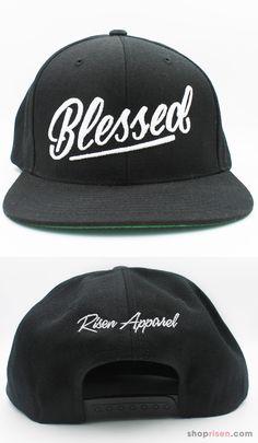 fdba4e22ce9 Jesus - Blessed - Christian Snapback Hat Cap