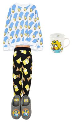 """""""#savethesimpsons"""" by emilyemilyh ❤ liked on Polyvore featuring art"""