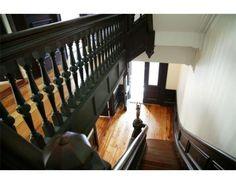 C 1872 Victorian staircase #Boston