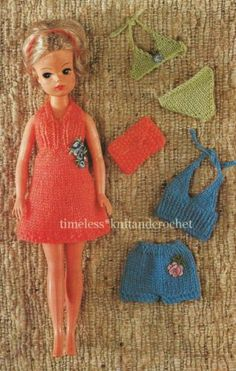 Knitting Patterns For Sindy Dolls : 12