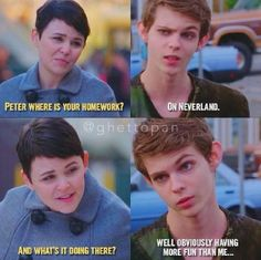 Hello, these are some imagines about Once upon a time's Peter Pan. Feel free to give ideas! They can be about Robbie Kay or any Ouat character you want, but; Once Upon A Time Peter Pan, Once Upon A Time Funny, Once Up A Time, Peter Pan Ouat, Robbie Kay Peter Pan, Peter Pans, Peter Pan Disney, Fandoms Unite, Arrow Flash