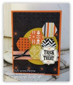 It's time for our September Sketch over at Stylin' Stampin' INKspiration . I am in full on Fall and Halloween mode and I just had to cre...