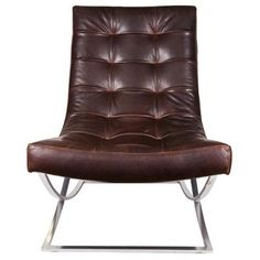 icon vincent chair-leather/oak