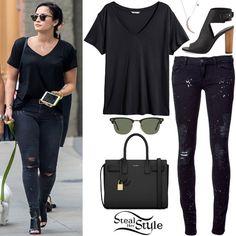 Demi Lovato and Wilmer Valderrama leaving La Esquina Restaurant in New York. May 12th, 2015 - photo: demilovato.com.br