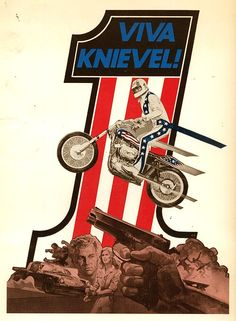 loveittodeathapparel: The influence of this man on Love it to Death Apparel cannot be overstated. #evilknievel