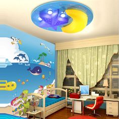 Happy-25-Aug-Sale-Free-Shipping-Ceiling-Light-Children-Light-Room-Baby-Room-Light-Cartoon-Light Toy Chest, Storage Chest, Kids Room, Cartoons, Room Baby, Toys, Children, Ceiling, Free Shipping
