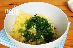 Tavada Patates Böreği (videolu) – Nefis Yemek Tarifleri Snacks, Seaweed Salad, Ethnic Recipes, Amigurumi, Napa Cabbage, Food Portions, Foods, Health, Treats