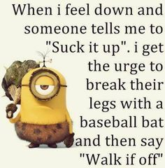 Despicable Me funny minion quotes of the day 020