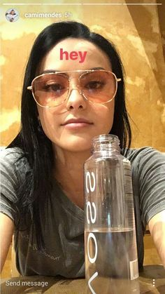 She looks so good with these glasses on