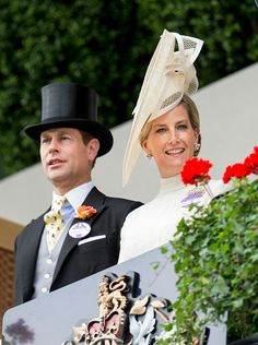 Sophie, Countess of Wessex and Prince Edward, Earl of Wessex on day 1 of Royal Ascot at Ascot Racecourse on June 16, 2015 in Ascot, England.