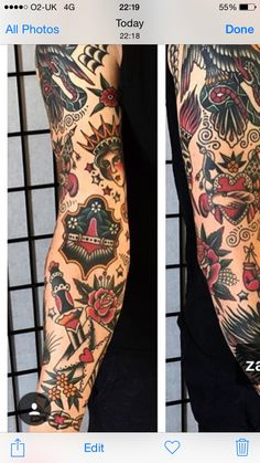 Traditional Forearm Tattoo : traditional, forearm, tattoo, Traditional, Tattoo, Sleeves, Ideas, Tattoo,, Sleeve, Tattoos,, American