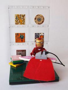 Iron man #IronMan #LEGO