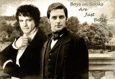 Mr. Darcy e Mr. Thornton tem uma conversa