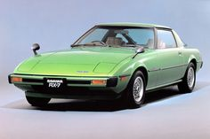 1978 Mazda RX-7 first year production