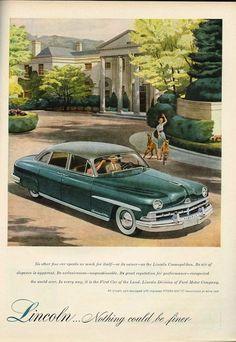 Lincoln Cosmopolitan, 1949 - 1951
