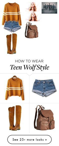 """Malia Hale outfit for Teen Wolf"" by bibi-bubu on Polyvore featuring Naturalizer and H&M"