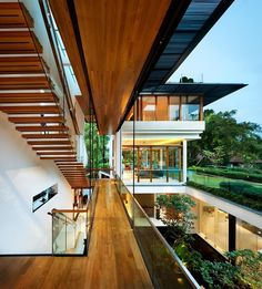 Situated in Singapore, this brilliant two-storey property was designed in 2013 by Guz Architects.