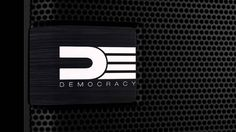 DEMOCRACY   The World's First Revolving Wireless Bluetooth Portable Spea...
