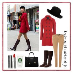 """""""Taylor Swift Winter Style"""" by matowi-kohno0715 ❤ liked on Polyvore featuring mode, ISABEL BENENATO, Jane Norman, AG Adriano Goldschmied, Seychelles, Givenchy et MICHAEL Michael Kors"""