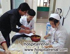 El Paciente de Shijiazhuang Hospital de Enfermedad de Rinon Obtiene Algunos Rvioles en el Día del Solsticio de Invierno