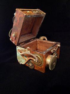Steampunk Clockwork Collectible Jewelry Box Karl Box Steampunk