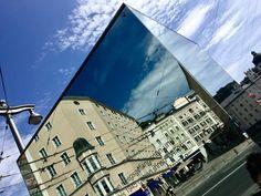 Citycube. Salzburg, Louvre, Building, Travel, Voyage, Buildings, Viajes, Traveling, Trips