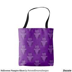 Halloween Vampire Ghost Tote Bag