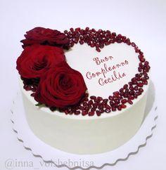23 Ideas Cake Decorating Ideas Valentines Sweets For 2019 Valentines Day Cakes, Cake Decorating Techniques, Decorating Ideas, Birthday Cake Decorating, Love Cake, Cream Cake, Creative Cakes, Celebration Cakes, Cake Art