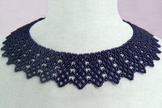 Free pattern for necklace Beatrice