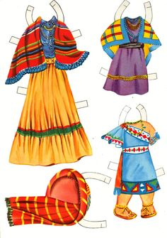 Sharon's Sunlit Memories: Saalfield Indian Paper Dolls #1367