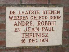 last stones plaquette 1974