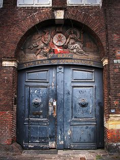 """Isn't this the loveliest? On a walk to Nyhavn. From this photographer. """" from The House that Lars Built, Door in Copenhagen."""
