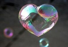 soap bubble heart...