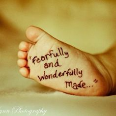 fearfully and wonderfully made :) by lottie