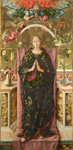 Carlo Crivelli. The Immaculate Conception, 1492.