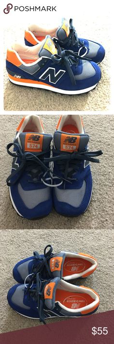 New balance women's sz 6 wl57cpm nwt leather New balance 574 classic WL 5764 3 PM size 6 regular with brand-new leather and synthetic fabric and Very comfortable awesome shoes non-smoking home fast delivery at an excellent price get it today New Balance Shoes Athletic Shoes