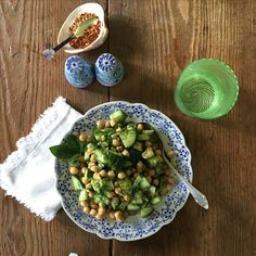 IRMA´S Chickpea salad #food #cooking #inspo #style #colors #foodporn