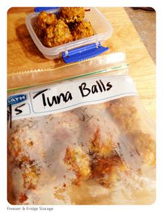 Cooking For Busy Mums: TODDLER MEAL - TUNA & VEGE BALLS