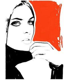 Style Gourmand: Fashion Illustrations by Judith van den Hoek