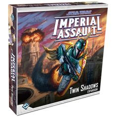Investigate a growing imperial presence in Twin Shadows, the first box expansion for Star Wars Imperial Assault.