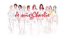 Je Suis Charlie by Eeren - Enrica Eren Angiolini - §