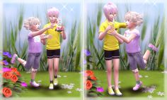 Sims 4 CC's - The Best: Poses by A Lucky Day