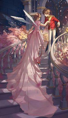Sakura y Shaoran                                                       …