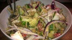 Tupun tupa: Marinoitu linssi-salaatti