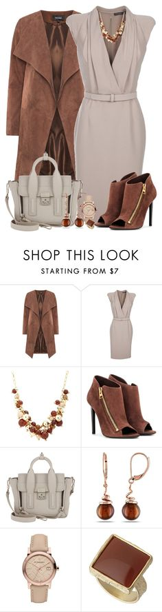 """""""ALEXANDER MCQUEEN Tuxedo front dress"""" by starpretygirl ❤ liked on Polyvore featuring Alexander McQueen, Principles by Ben de Lisi, Tom Ford, 3.1 Phillip Lim, Miadora, Burberry, Dorothy Perkins, women's clothing, women and female"""
