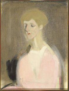 Countess Marina de Hayden painted by Helene Schjerfbeck. Helene Schjerfbeck, Helsinki, Tsar Nicolas Ii, Wilson Art, Art Courses, True Art, Life Drawing, Famous Artists, Portrait Art